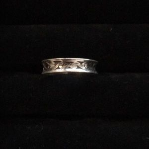 Lois Hill Sterling Silver Ring Size 6 3/4